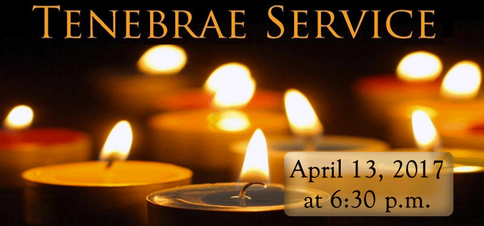 Maundy Thursday Tenebrae Service April 13 2017 187 Mary