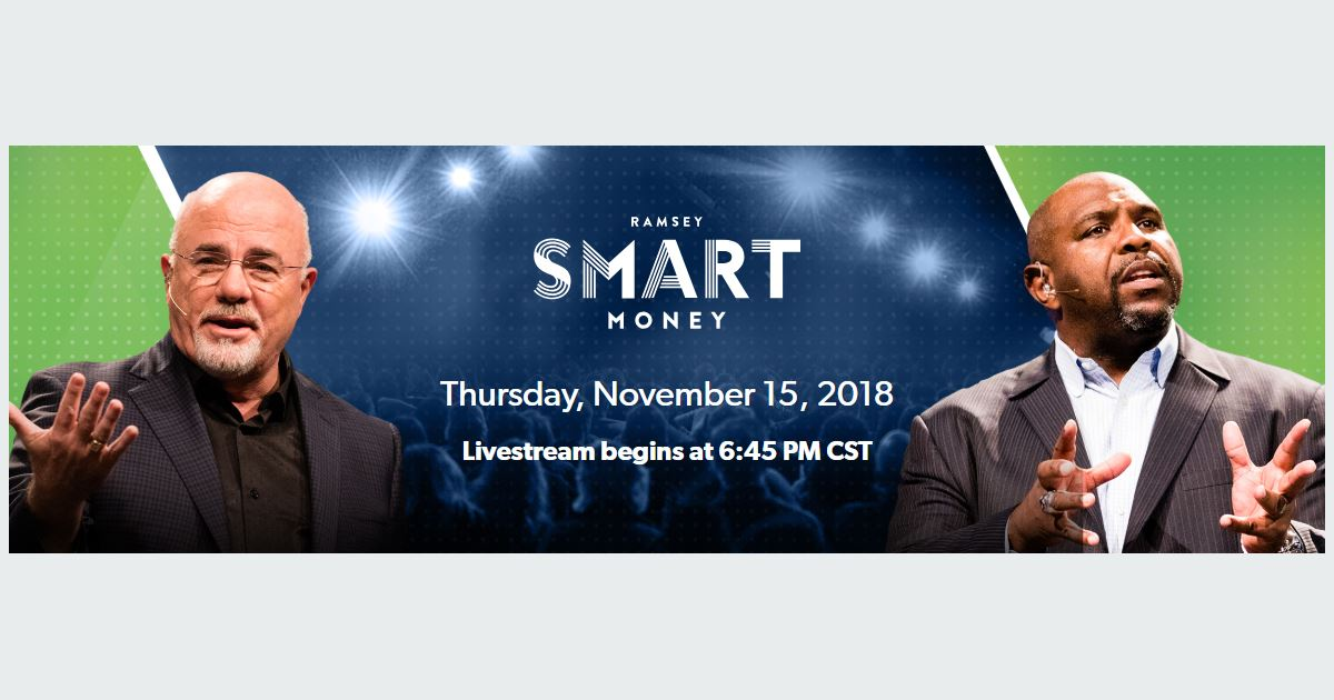 Dave Ramsey Smart Money livestream
