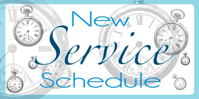 Service Schedule 2019