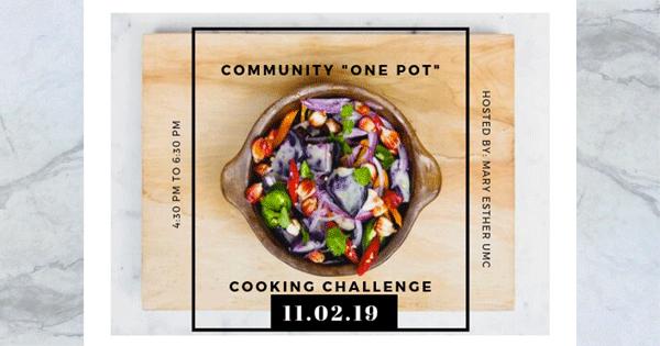 "Community ""One Pot"" Challenge"