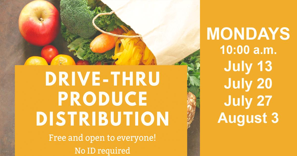 Drive Thru Produce Distribution