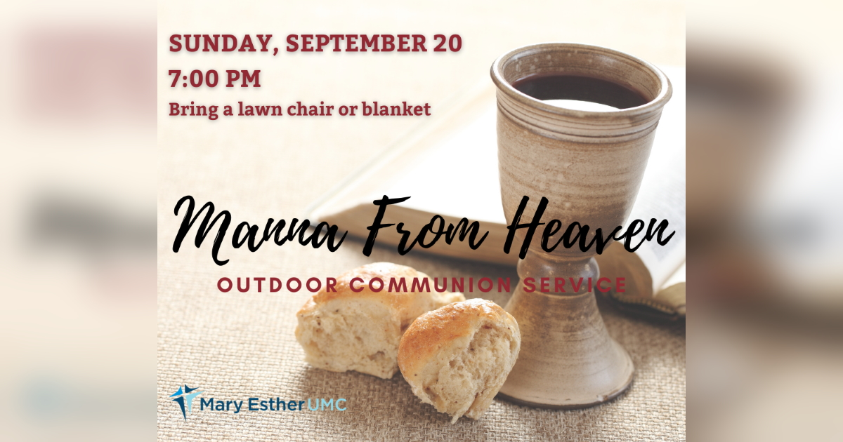 Manna from Heaven Service