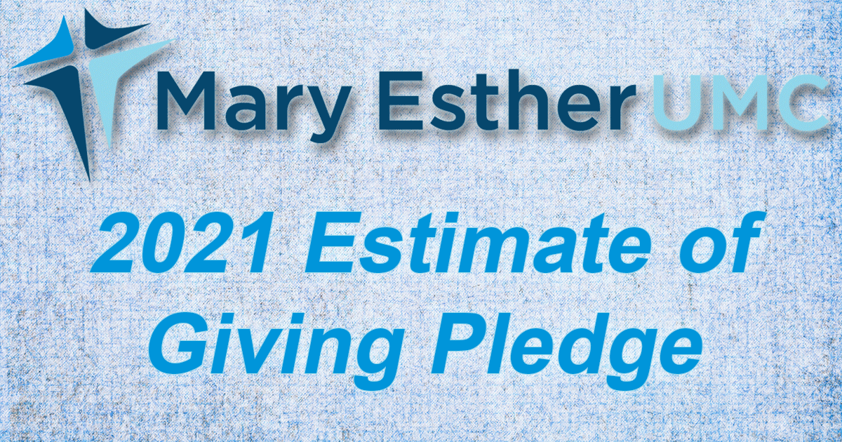 Estimate of Giving