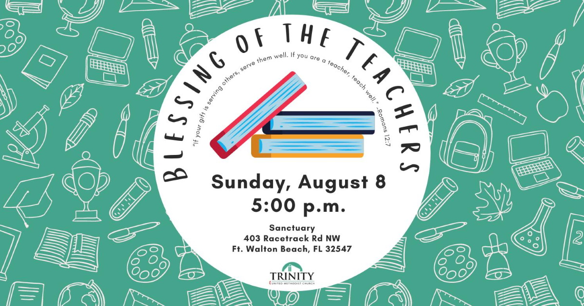"""Featured image for """"Blessing of the Teachers: August 8, 2021"""""""